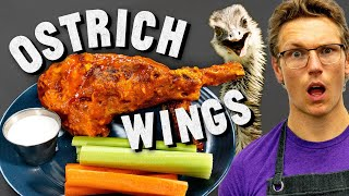 Making Giant Ostrich Wings