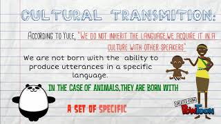 "G. Yule ""The study of language"" Chapter 2 ""Animals and human language"""