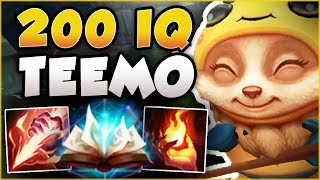RED SMITE + IGNITE THE ENEMY IN SAME FIGHT?? 200 IQ TEEMO TOO OP! TEEMO GAMEPLAY! League of Legends
