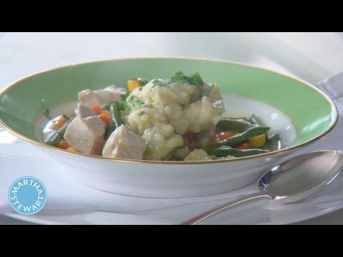 One Pot Chicken and Dumplings Recipe - Martha Stewart