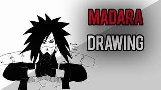 Madara Uchiha Drawing (Time Lapse)