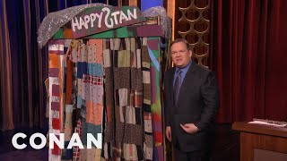 Andy Richter's Euphoric Trip To Happystan  - CONAN on TBS