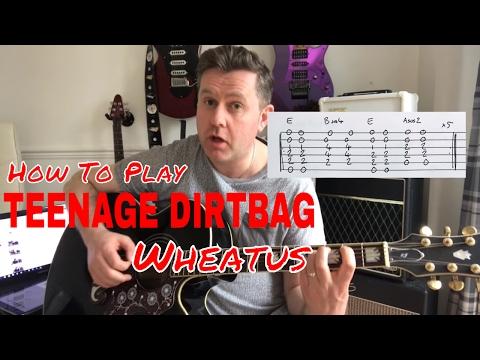 South Shields Guitar Lessons: Wheatus - Teenage Dirtbag - guitar ...