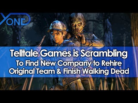 Telltale Games is Scrambling to Find New Company to Rehire Original Team & Finish Walking Dead