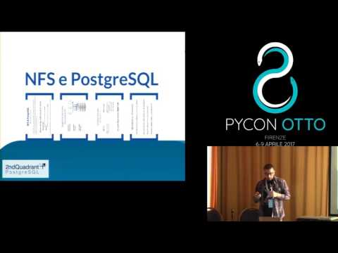 Image from PostgreSQL su NFS: miti e verità