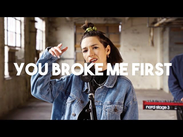 Tate McRae - you broke me first (Fleur Rouge Cover)