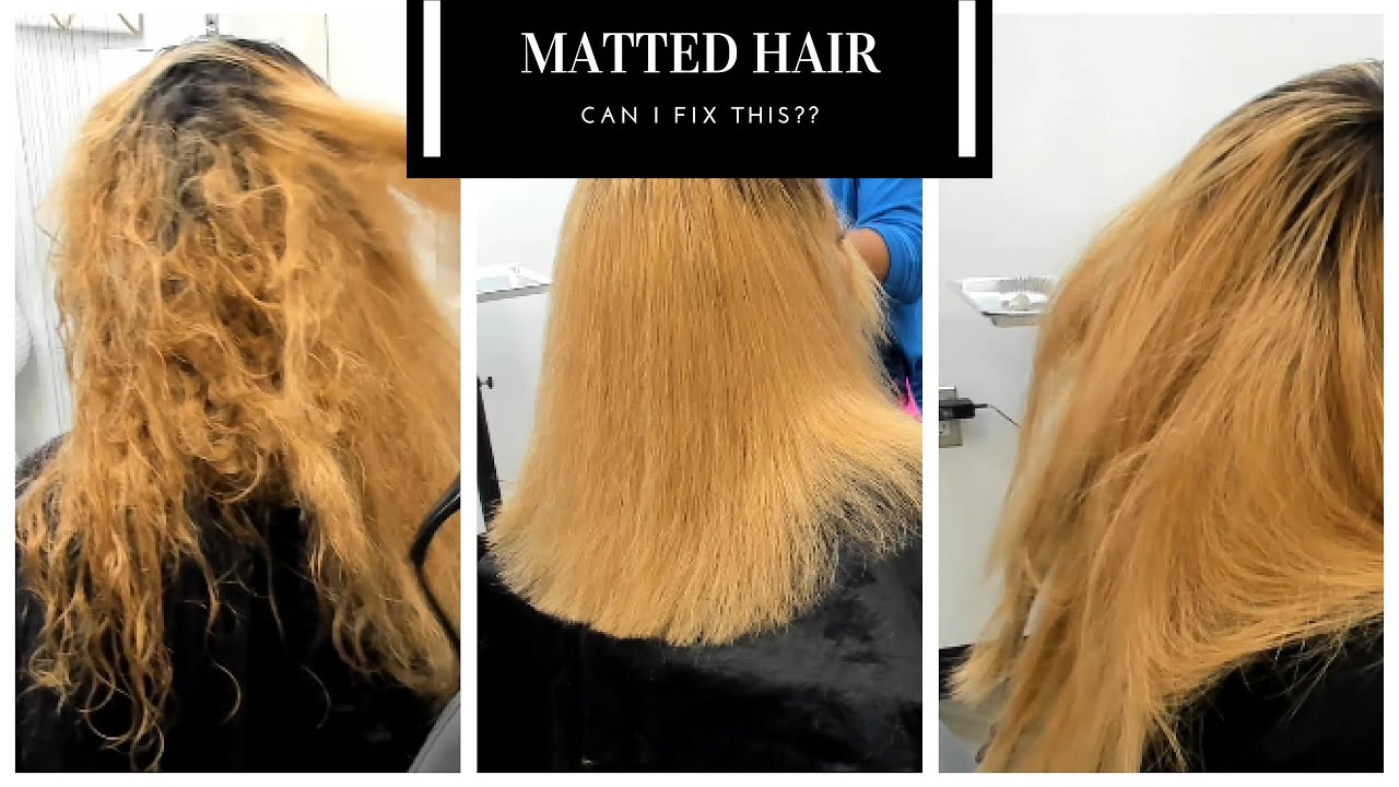 30 Best Images How To Detangle Matted Black Hair / Best ...