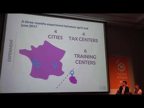 TICTeC@Taipei: Digital Skills Training for Better Citizen Participation in France