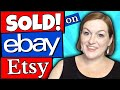 What Sold Lately - Ebay Sales and Etsy Sales - What Sells on Ebay 2019