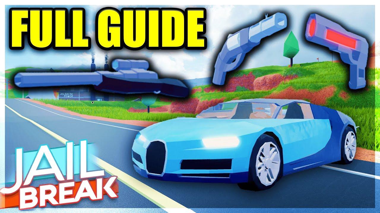Jailbreak Sniper Update Full Guide Bugatti Chiron Revolver