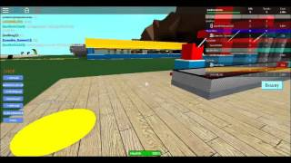 Playing a match with UMS BR (ROBLOX)