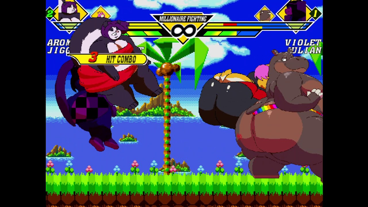 Download Mugen Request - Aroma and Jiggly Bunny vs Violet Bunny and Julian Hippo