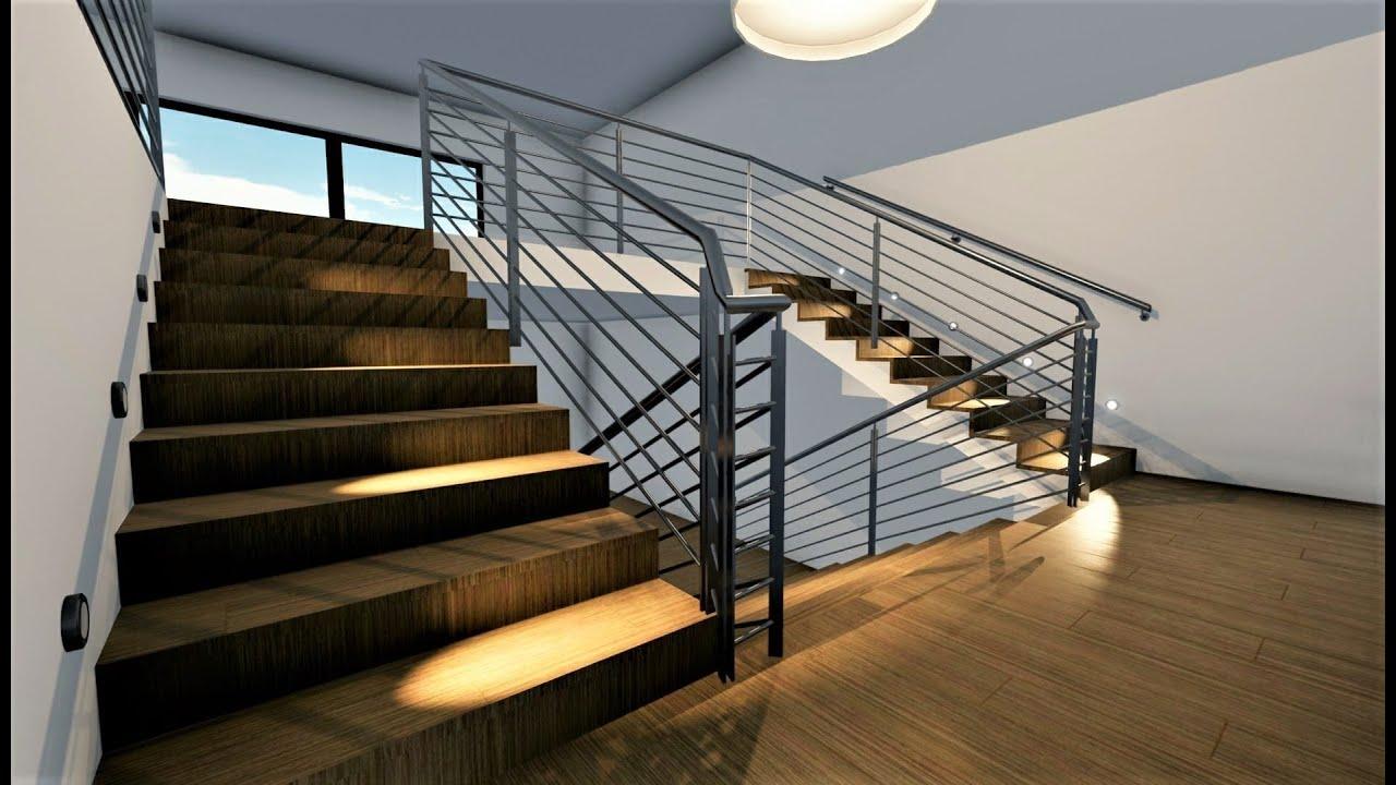 Tutorial edificius come progettare una scala per interni for Software per progettare interni