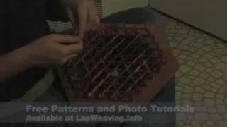Weaving on a Hexągon Loom