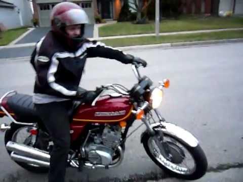1976 KH 250 First Ride