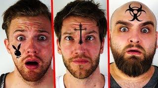 Wer bekommt das Gesichts-Tattoo? Andre vs Cengiz vs Jan