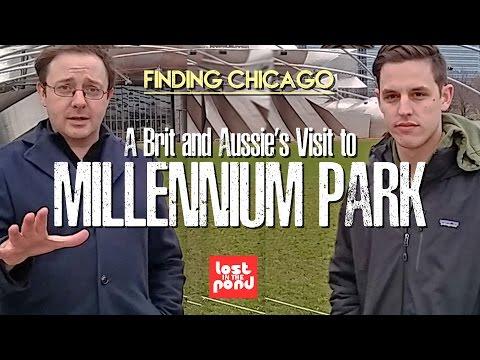 A Brit and Aussie Visit Millennium Park | Finding Chicago