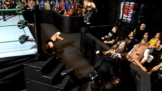 WWE Mattel Ringside Exclusive Barricade Figure Playset Arena Review