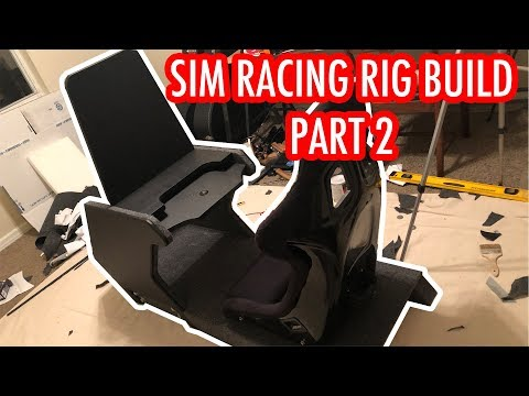 Sim Racing Rig Build Part 2: Ricmotech RS1 Upholstery and Assembly AE22