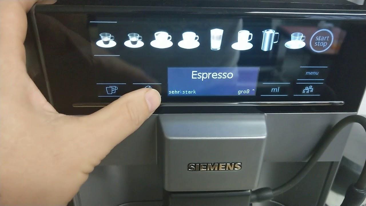 Siemens Eq 6 Plus S100 Test Siemens Eq 6 Plus S100 Espressomaskin Test Youtube
