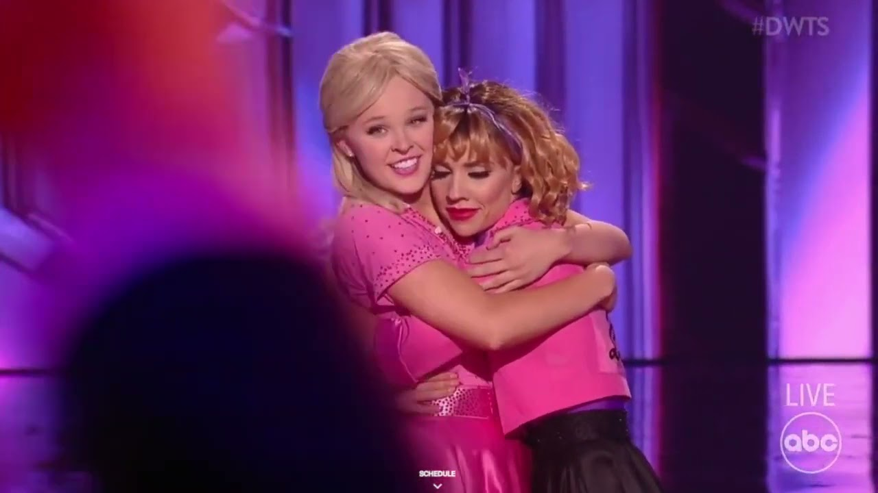 Download JoJo Siwa & Jenna   DWTS - Grease Night complete presentation with scores