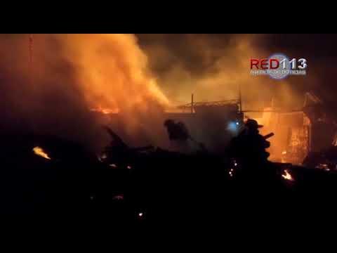 Arde bodega de madera en Ciudad Industrial, Morelia