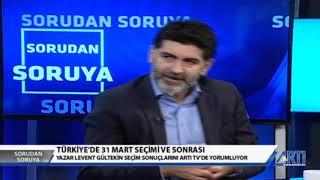 Sorudan Soruya 2 - Murat Aksoy Konuk: Levent Gültekin 25 Nisan 2019