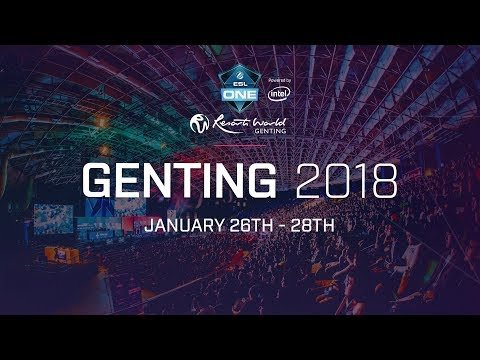 Liquid vs NewB ESL One Genting 2018 Groupstage Game 2 bo3