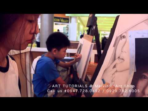 Portrait Painting Tutorials Subic Bay/Olongapo City/Clark Pampanga