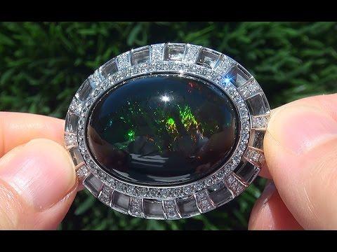 World S Largest Gia Certified Estate Ethiopian Black Opal