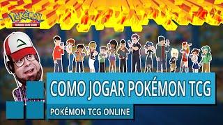 COMO JOGAR POKÉMON TCG ONLINE PARTE UM - Pokémon TCG Online