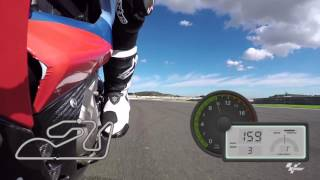 GoPro: Round 18 Valencia Spain Dylan Gray Track Preview MotoGP 2015