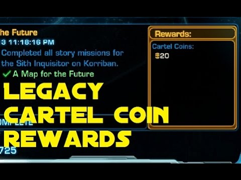Star Wars TOR: Earn over 3,000 Cartel Coins just by playing newbie levels