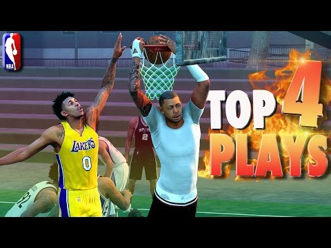 TOP 4 PLAYS Of JUNE! - NBA 2K16 Posterizer Dunks, Trick Shots & Blocks