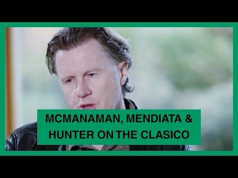 GOAL EXCLUSIVE - MENDIETA, McMANAMAN & HUNTER ON THE CLASICO