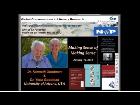 KENNETH GOODMAN and YETTA GOODMAN - Making Sense of Making Sense