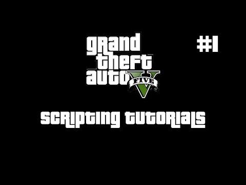 GTA V Scripting Tutorial | Installation & First Script | #1