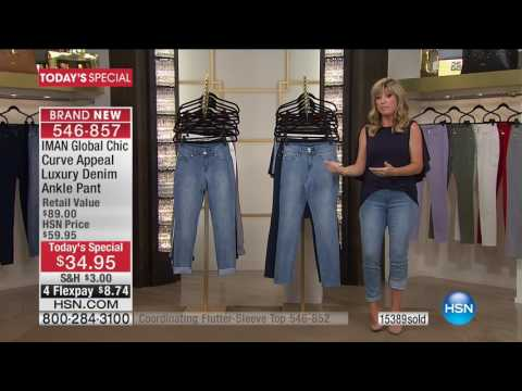HSN | IMAN Global Chic Fashions 06.10.2017 - 01 AM