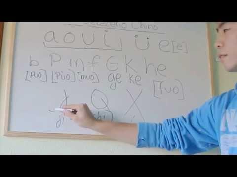 #1 clase de chino-abecedario chino y su pronunciación