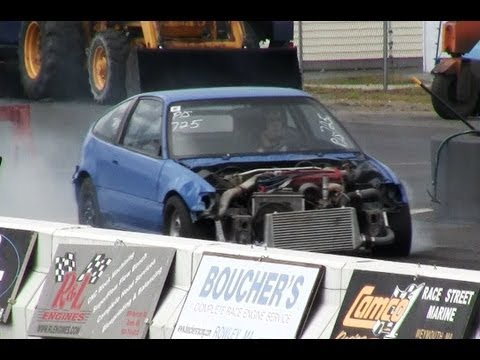 Honda Drag Race Car
