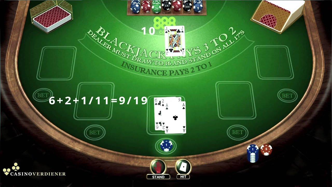 Blackjack Kartenwerte