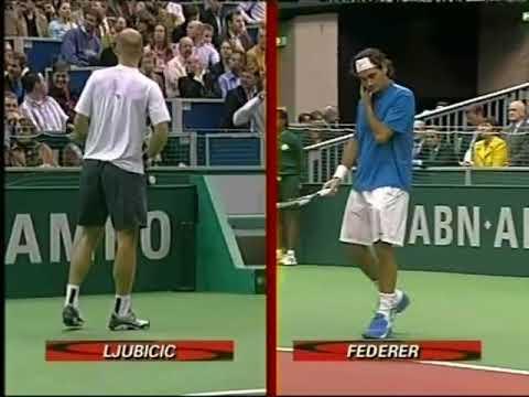 ATP Rotterdam 2005 - Final Federer vs Ljubicic [ITA]