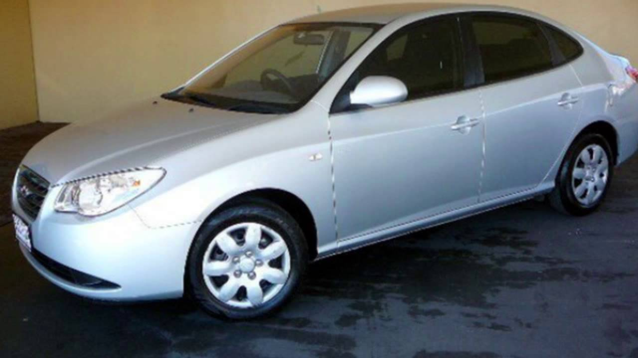 2008 hyundai elantra hd sx silver 4 speed automatic sedan