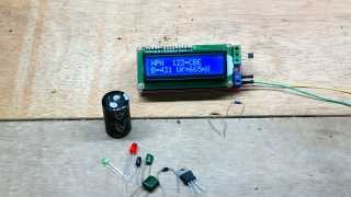 Simple LCD display ESR Meter