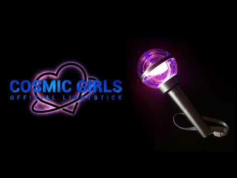 Cosmic Girls / WJSN Official Lightstick Unboxing