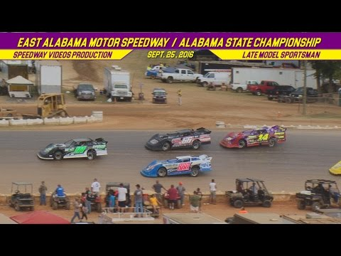 Late Model Sportsman | East Alabama Motor Speedway | Sept  25 , 2016