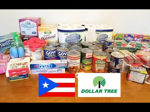 Puerto Rico Care package item from  Dollar tree!
