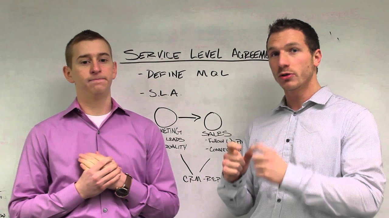 Smarketing What Is A Service Level Agreement Youtube