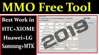 MMO Free Tool 2019 Best Work in LG,Huawei,Htc,xiaomi and Samsung By AMS TECH