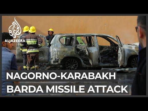 Azerbaijan Says 21 Dead In Armenia Attack Near Nagorno-Karabakh